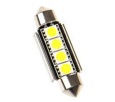 1 42mm Soffitte Lampe C10W Kühlkörper 4x 5050 SMD LED Kofferraumbeleuchtung Blau