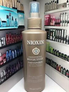 (1) Nioxin Smoothing Reflectives Fast Control Anti-Frizz Hairspray 6.8 Oz