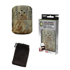 Zippo Hand Warmer 12-Hour Camouflage Camo Soft Warming Bag Filling Cup