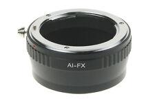 Nikon AI F mount Adapter Objektiv lens Fujifilm Fuji FX X Mount X-Pro1 x-a1 x-e2