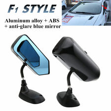 F1 Racing Car Drift Side Rearview Mirror with Anti-glare Blue Mirror Surface