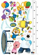 Pororo Height Measure Wall Point Sticker Kids Room Deco KRHS-PPS-58512