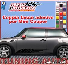 Mini Cooper - Fasce adesive a 1 colore - cod. art. cx66