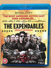 SYLVESTER STALLONE THE EXPENDABLES ~2010 Action Film Location BLU-RAY
