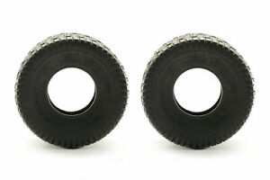 TWO 15X6.00-6 Lawn Tractor Turf Lawn 15X6-6 2 Ply Rated Lawn Mower Set Two Tires