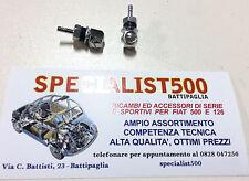 COPPIA SPRUZZATORI TERGICRISTALLO IN METALLO CROMATO FIAT 500 D  - EPOCA