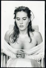 Photo Jean François Jonvelle Original Mathilde Seigner Vers 1990