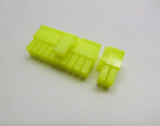 20+4 Pin ATX Connector, UV Yellow (Smart Power Supply/PSU/Computer/PC) Male. New