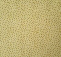 Jacobean Jewels BTY Red Rooster Small Irregular Gold Polka Dots on Beige