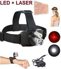 Linterna Frontal Recargable luz LED 5000LM T6 + Laser equilibrio reabilitacion