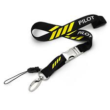 Pilot 4 Bars Polyester Lanyard Set