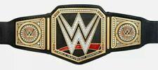 More details for wwe heavyweight championship adult wwf wrestling 2mm brass belt