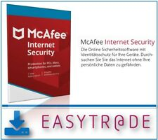 McAfee Internet Security 2018 1 Gerät  / 1Jahr Vollversion ESD