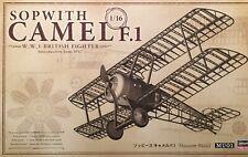 Hasegawa #50031 1/16 Sopwith Camel F1 Museum-quality -- Model Kit