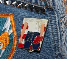 NOS vtg 80s 1984 licensed BRUCE SPRINGSTEEN enamel pin * for shirt jacket hat