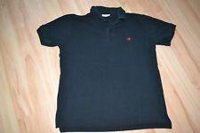 schönes schwarzes Poloshirt T-Shirt Shirt kurzarm Herren von Tom Tailor Gr. M