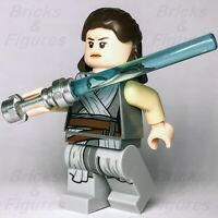 New Star Wars LEGO® Rey Grey Robe The Last Jedi Padawan Minifigure 75189 75216