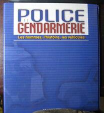 CLASSEUR POUR FASCICULES DE LA COLLECTION HACHETTE POLICE ET GENDARMERIE