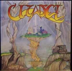 CITADEL of Cynosure & Other Tales LP Hard/Prog Rock SEALED on CLEAR Vinyl