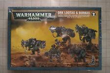 Warhammer 40K Ork Lootas / Burnas  NEW