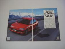 advertising Pubblicità 1994 PEUGEOT 306 S 16