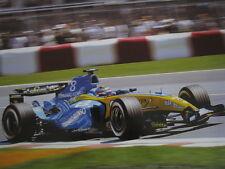 Poster Mild Seven Renault R24 #8 Fernando Alonso (ESP) GP Canada