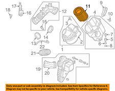 HONDA OEM Engine-Air Filter Element 17220PNB505