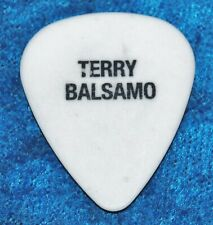 Evanescence Terry Balsamo The Open Door Tour Guitar Pick 2007 White Rock