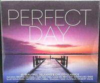 PERFECT DAY - VARIOUS ARTISTS, TRIPLE CD ALBUM DIGIPAK, (2020), NEW & SEALED.