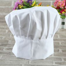 Adult Kids Polycotton Adjustable Hat Tall Chefs Hat School Baking Cooking New