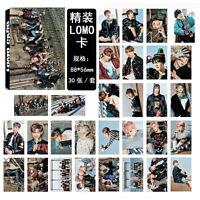 NEW 30pcs set Kpop Bangtan Boys Wings - YOU NEVER WALK ALONE Photo Lomo Card