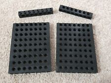 20 x LEGO TECHNIC 1x8 BRICKS WITH 7 PEG HOLES BLACK  3702 OTHER COLOURS AVAIL