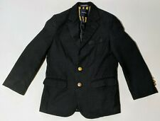 NAUTICA ~ Uniform Blazer Jacket Sport Coat ~ Navy Blue ~ Boys' 8