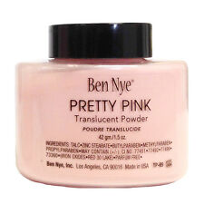 Ben Nye Pretty Pink Powder 1.5 oz Bottle Authentic Translucent Face Makeup
