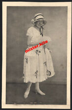 ak:Vintage-Mädchen-Girl-Hut-Rock-sweet--sexy Kleid-Dress-mädel-1910