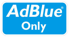 AdBlue Only Sticker's Quantity x6