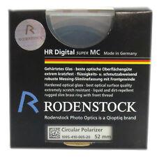 RODENSTOCK HR Digital super MC Circular Polfilter  Ø52mm,  * Fotofachhändler *