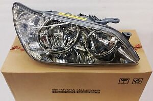 LEXUS OEM FACTORY PASSENGER HEADLAMP LENS & HOUSING 2001-2003 IS300 81145-53041