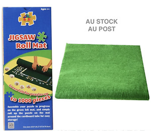 Jigsaw Puzzle Roll Mat Blanket with Storage Tube 1000 Pieces