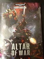 Warhammer 40K Compendium Altar of War (New Sealed) Hb