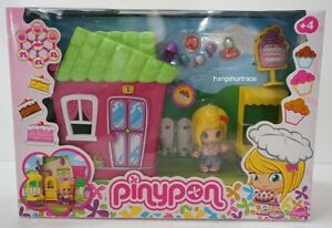 Famosa Pinypon Little House (Series 2) Cake Shop with Accessories Playset