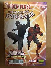 AMAZING SPIDER-MAN # 11 WEB WARRIORS VARIANT PT 3 SPIDER-VERSE SPIDERMAN NOIR
