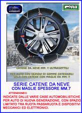 Catene neve 195/45-16 Omologate auto Catene da neve MM.7 Cerchio 13 14 15 16