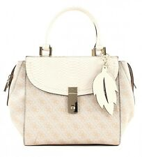 GUESS Cross Body Bag Nissana Satchel Stone