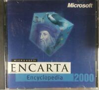 Microsoft Encarta Encyclopedia 2000 PC CD-ROM