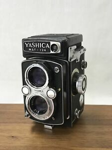 *PROF. SERVICED / METER WORKS* Yashica MAT-124 Medium Format TLR Film Camera Vtg
