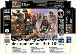 German military men, 1944-1945 Das Maschinengewehr ist dort 1/35 MasterBox 35218