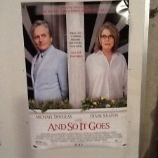 Original Movie Poster And So It Goes Double Sided 27x40