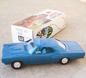 1969 Dodge Coronet in Box NEAR MINT Model Projects PROMO Blue