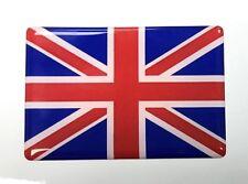 UNION JACK FLAG STICKER 64mm Red, White & Blue - HIGH GLOSS DOMED GEL FINISH